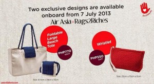 RIIR promotion on Air Asia