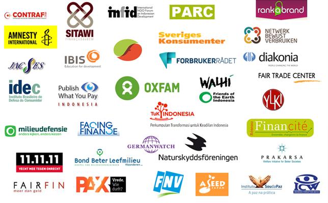 สมาชิกแนวร่วม Fair Finance Guide International